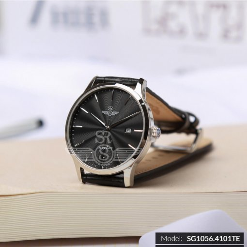 Đồng hồ nam SRWATCH SG1056.4101TE TIMEPIECE đen cao cấp