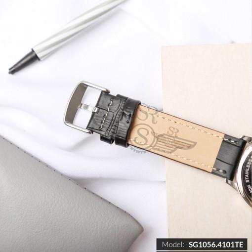 Đồng hồ nam SRWATCH SG1056.4101TE TIMEPIECE đen thương hiệu Nhật Bản