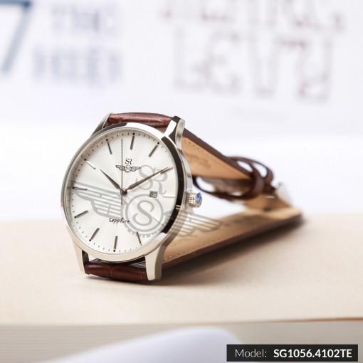 Đồng hồ nam SRWATCH SG1056.4102TE TIMEPIECE trắng lịch lãm