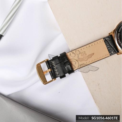 Đồng hồ nam SRWATCH SG1056.4601TE TIMEPIECE đen lịch lãm sang trọng