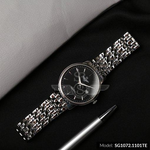 Đồng hồ nam SRWATCH SG1072.1101TE TIMEPIECE đen cao cấp
