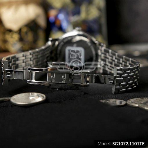 Đồng hồ nam SRWATCH SG1072.1101TE TIMEPIECE đen chính hãng