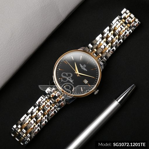 Đồng hồ nam SRWATCH SG1072.1201TE TIMEPIECE đen giá tốt