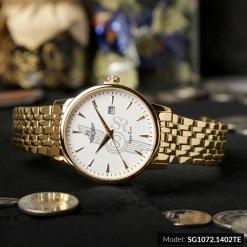 Đồng hồ nam SRWATCH SG1072.1402TE TIMEPIECE trắng cao cấp