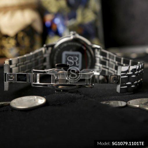 Đồng hồ nam SRWATCH SG1079.1101TE TIMEPIECE đen chính hãng
