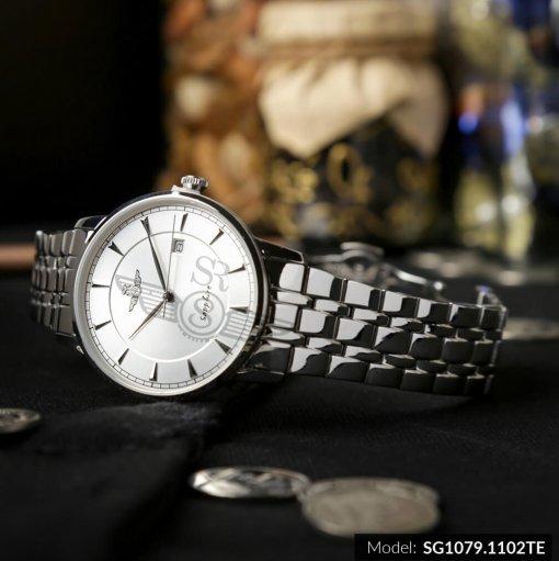 Đồng hồ nam SRWATCH SG1079.1102TE TIMEPIECE trắng giá tốt