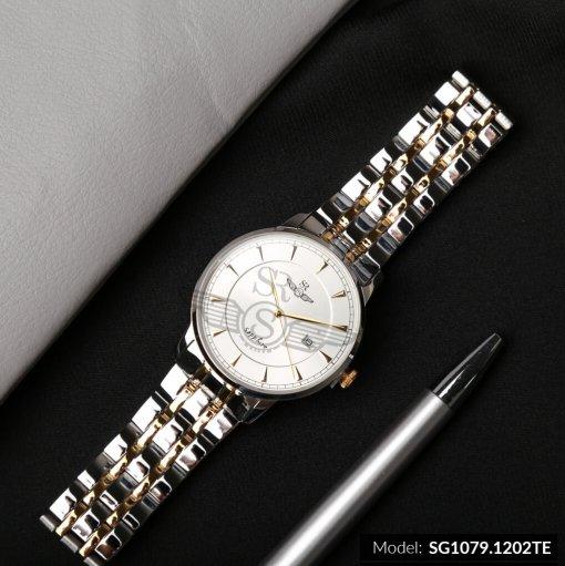 Đồng hồ nam SRWATCH SG1079.1202TE TIMEPIECE trắng giá tốt