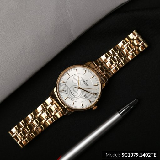 Đồng hồ nam SRWATCH SG1079.1402TE TIMEPIECE trắng cao cấp