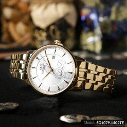 Đồng hồ nam SRWATCH SG1079.1402TE TIMEPIECE trắng giá tốt
