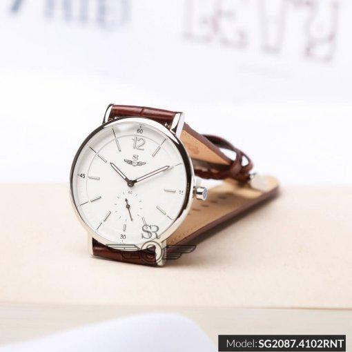 Đồng hồ nam SRWATCH SG2087.4102RNT RENATA trắng - 1