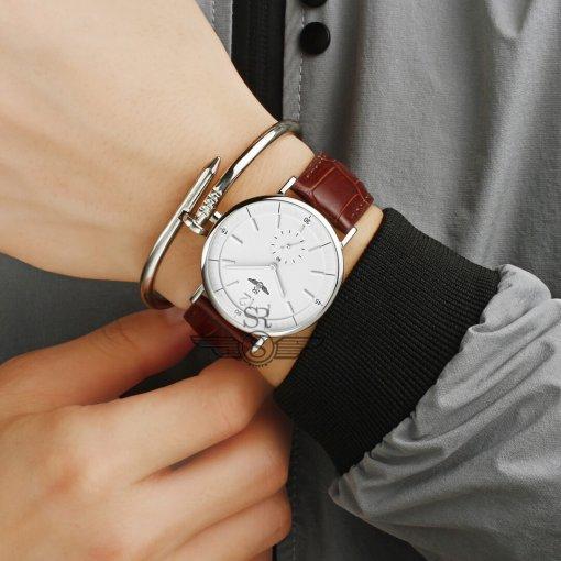 Đồng hồ nam SRWATCH SG2087.4102RNT RENATA trắng - 3