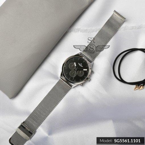 Đồng hồ nam SRWATCH SG5561.1101 đen- 3