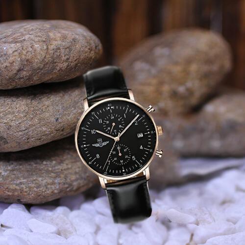 Đồng hồ nam Srwatch SG5741-1401 đen cao cấp giá tốt