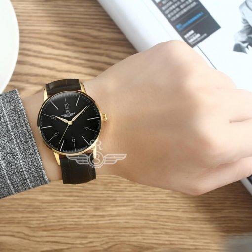Đồng hồ nam SRWATCH SG6657.4601RNT RENATA đen - 3