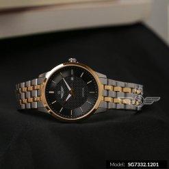 Đồng hồ nam SRWATCH SG7332.1201 đen - 1