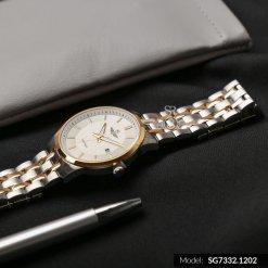Đồng hồ nam SRWATCH SG7332.1202 trắng - 2