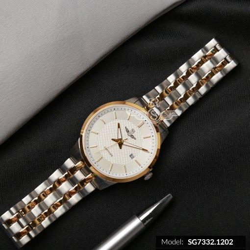 Đồng hồ nam SRWATCH SG7332.1202 trắng - 3
