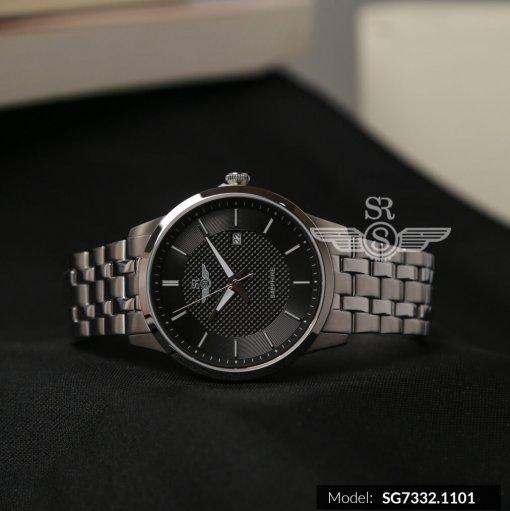 Đồng hồ nam SRWATCH SG7332.1101 đen- 1