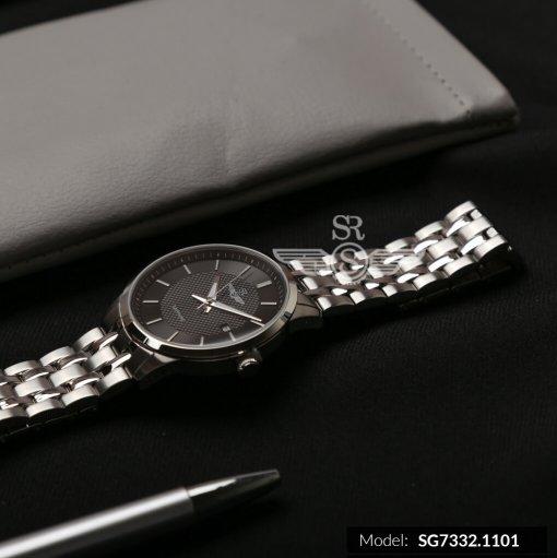 Đồng hồ nam SRWATCH SG7332.1101 đen- 2
