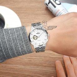 Đồng hồ nam SRWATCH SG8873.1102 trắng - 3