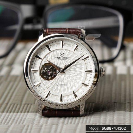 Đồng hồ nam SRWATCH SG8874.4102 trắng - 1