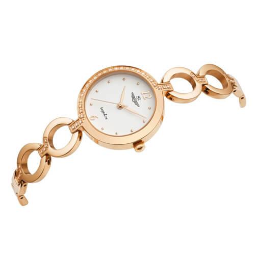 Đồng hồ nữ SRWATCH SL1608.1302TE trắng - 1
