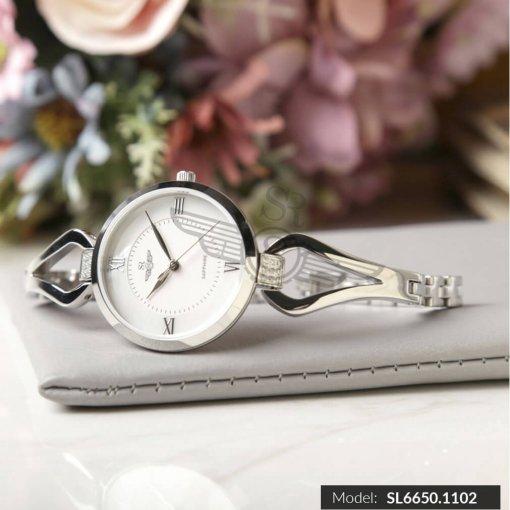 Đồng hồ nữ SRWATCH SL6650.1102 trắng cao cấp