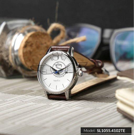 Đồng hồ nữ Srwatch SL1055-4102TE Timepiece trắng thương hiệu Nhật Bản
