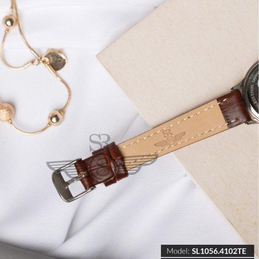 Đồng hồ nữ SRWATCH SL1056.4102TE TIMEPIECE trắng sang trọng