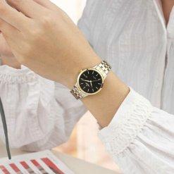 Đồng hồ nữ SRWATCH SL1072.1201TE TIMEPIECE đen nữ tính