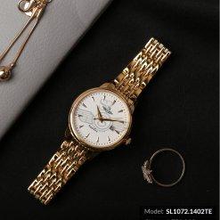 Đồng hồ nữ SRWATCH SL1072.1402TE TIMEPIECE trắng cao cấp