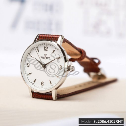 Đồng hồ nữ SRWATCH SL2086.4102RNT RENATA trắng chính hãng
