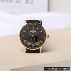 Đồng hồ nữ SRWATCH SL2086.4601RNT RENATA đen cao cấp