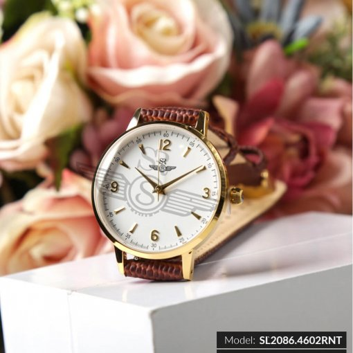 Đồng hồ nữ SRWATCH SL2086.4602RNT RENATA trắng cao cấp