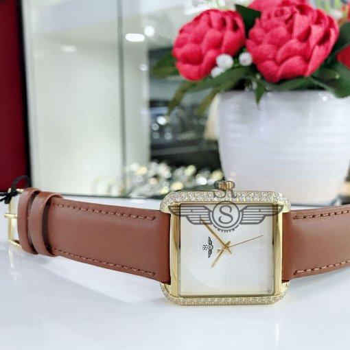Đồng hồ nữ Srwatch SL2203-4502 trắng cao cấp