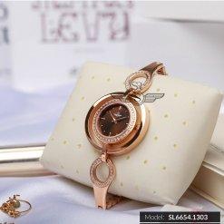 Đồng hồ nữ SRWATCH SL6654.1303 nâu - 1