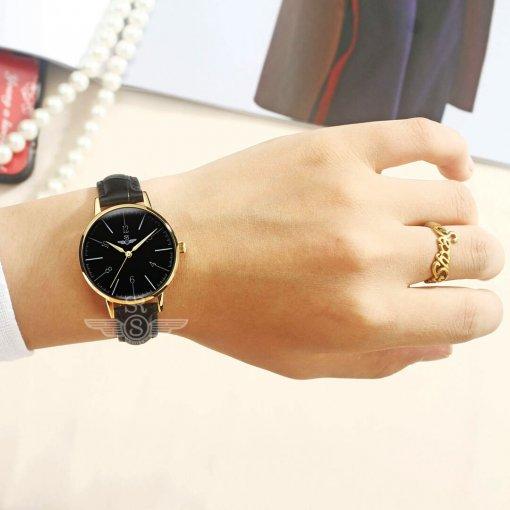 Đồng hồ nữ SRWATCH SL6657.4601RNT RENATA đen - 3