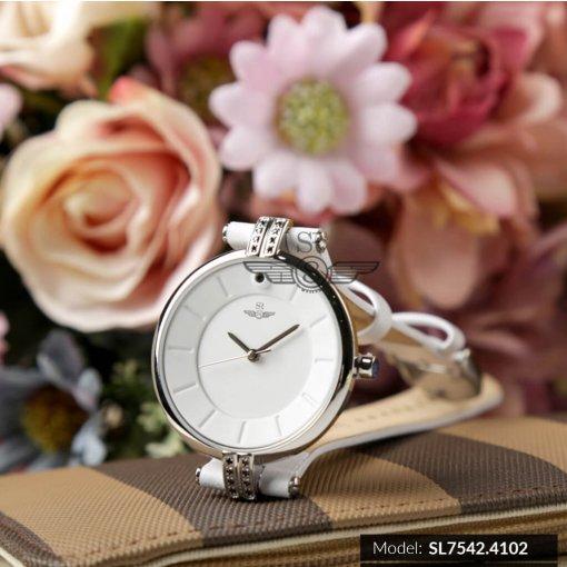 Đồng hồ nữ SRWATCH SL7542.4102 trắng - 1