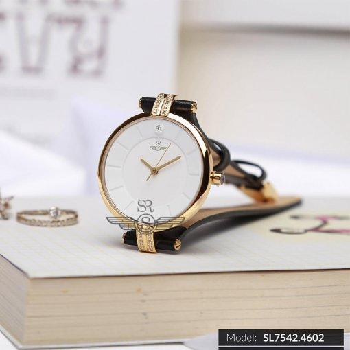Đồng hồ nữ SRWATCH SL7542.4602 trắng - 1