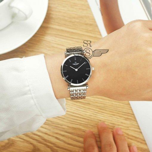 Đồng hồ nữ SRWATCH SL8702.1101 đen - 2