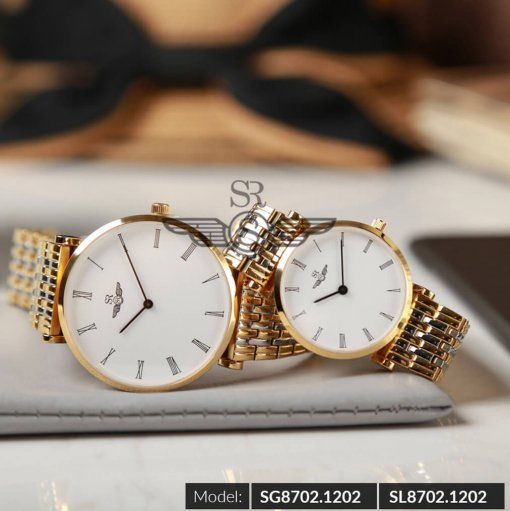 Đồng hồ nữ SRWATCH SL8702.1202 trắng - 1