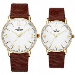 Đồng hồ đôi SRWATCH SR2086.4602RNT trắng