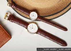 Đồng hồ cặp đôi SRWATCH SR2087.4602RNT trắng-1