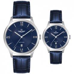 Đồng hồ cặp đôi SRWATCH SR80050.4103CF xanh