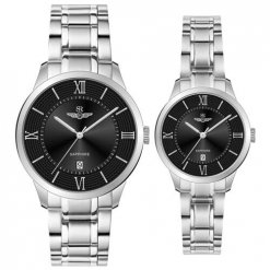 Đồng hồ cặp đôi SRWATCH SR80051.1101CF đen