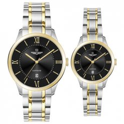 Đồng hồ cặp đôi SRWATCH SR80051.1201CF đen