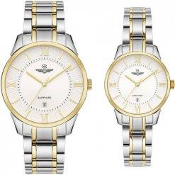 Đồng hồ cặp đôi SRWATCH SR80051.1202CF trắng
