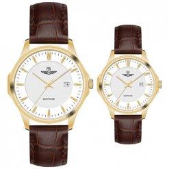 Đồng hồ cặp đôi SRWATCH SR80070.4602CF trắng