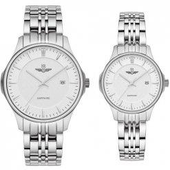 Đồng hồ cặp đôi SRWATCH SR80071.1102CF trắng