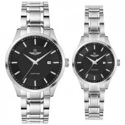 Đồng hồ cặp đôi SRWATCH SR80081.1101CF đen